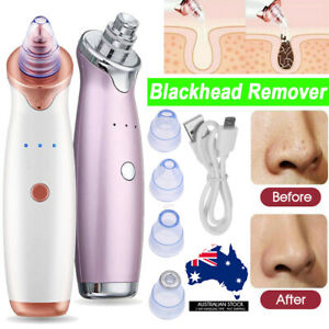 Face Facial Pore Blackhead Vacuum Derma Suction+Usb Charge Diamond Dermabrasion