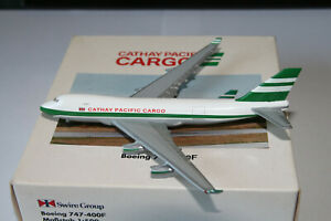Herpa Wings 1:500 Cathay Pacific Cargo Boeing 747-400F OVP