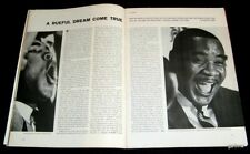 CASSIUS CLAY & SONNY LISTON 1963 SIGN FOR TITLE BOXING MATCH ANNOUNCED PICTORIAL