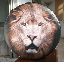 """Spare Tire Wheel Soft Cover With 3D Lion For Jeep Toyota Ford 29"""" 30"""" 31"""""""