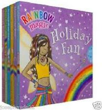 NEW SEALED BOX x 6 RAINBOW MAGIC HOLIDAY FUN board books POCKET LIBRARY Fairies