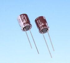 25x 82uf 35V 105/'C SLIM elettrolitico ELXY350ETD820MF15D 6.3 x 15mm 2.5mm