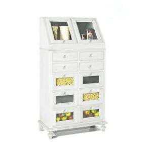 Pantry 1243 White Matt 80X42X153H