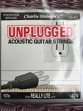 Unplugged Charlie Stringer'S Phosphor Bronze Acoustic Guitar Strings 10'S