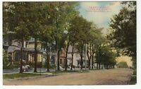 [60357] OLD POSTCARD PERRY STREET LOOKING NORTH, MONTGOMERY, ALABAMA