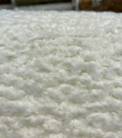 Italian Faux Sheepskin Natural Upholstery Fabric By The Yard
