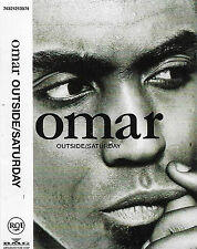 OMAR OUTSIDE / SATURDAY CASSETTE SINGLE 2 TRACK acid jazz downtempo