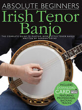 Absolute Beginners Irish Tenor Banjo Sheet Music The Complete Guide to 014043688