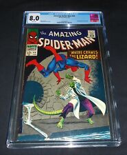 The Amazing Spider-man # 44 1967 CGC 8.0 White Pages !