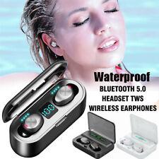 Auricular Bluetooth 5.0 TWS Gemelos Auriculares Estéreo Para Auriculares audífonos inalámbricos IPX7