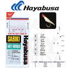 Hayabusa Hage-Kawa Saltwater Sabiki Fishing Rigs Hooks [S-005Ae]