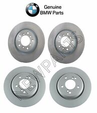 BMW E46 M3 2001-2006 Front and Rear Vented Brake Disc Rotors GENUINE KIT