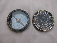 "Relica 2"" Nautical Compass With Brass Of CORONATION ELIZABETH~ June 1953"