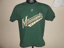 NEW Martin Havlat #14 Minnesota Wild YOUTH Medium Dark Green Reebok Shirt 21NA