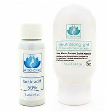 Lattici 50% di acido chimico Viso Peel, neutralizzare GEL & l'applicatore del pennello