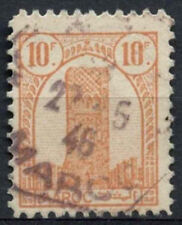 French Morocco 1943-4 SG#280, 10f Orange-Brown Used #A94074