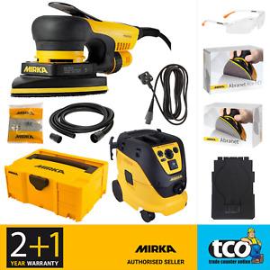 Mirka DEOS 663CV 100 x 152 x 152mm Bluetooth Sander 230V OR M Dust Extractor