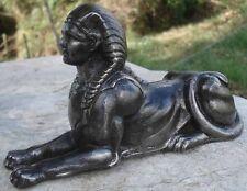 -Elément Architectural Empire Antique Cast Iron Sphinx