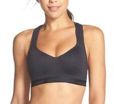 Under Armour StudioLux Sports Bra Black Women's Size 32DD 59241