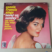 CONNIE FRANCIS SINGS NEVER ON A SUNDAY MGM USA LP