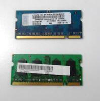 512MB (2 x 256MB) DDR2 256MBx2 PC2-4200S SO-DIMM MICRON, NANYA Laptop RAM