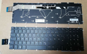 Original Tastatur DELL Alienware M15 M17 R1 P79F P79F001 7 Color FX LED Keyboard
