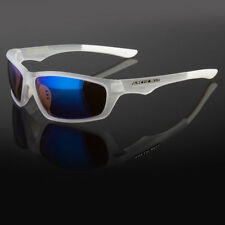 SPORT WRAP HD DRIVING VISION SUNGLASSES BLUE HIGH DEFINITION GLASSES