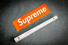 Supreme box logotipo Sticker Adhesivo decal nuevo skateboard hypebeast Brick New York