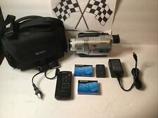 Sony HandyCam Dcr-Trv730 Digital8 Camcorder Tested Working. *read* Sold As Is