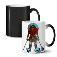 Katana Skull Art NEW Colour Changing Tea Coffee Mug 11 oz | Wellcoda