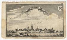 Neustadt a.d. DANUBE: newstatt. - cuivre clés de A. W. ERTL, 1687-1690