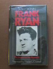 Signed - Frank Ryan by Sean Cronin - 1st Hcdj 1980 - Ireland