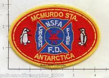 Antarctica - McMurdo NSFA Fire Dept Patch