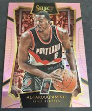 2016 Panini National VIP Pink Select Al-Farouq Aminu Portland Trail Blazers #/20