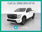 2020 Nissan Titan PRO-4X Pickup 4D 5 1/2 ft Push Button Start Towing Pkg Heated Seats Side Air Bags Dual Power Seats ABS