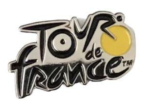 Tour de France Cycling Collectible Logo Butterfly Lapel Pin Badge