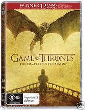 Game Of Thrones : Season 5 : NEW DVD