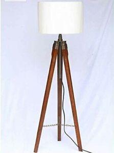 White lamp shade Tripod Stand Home decorative 3 Tripod Stand lamp