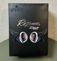 JH Audio Roxanne II 2 Earphone Universal In Ear Monitor IEM Full Metal Jacket