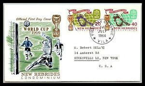 GP GOLDPATH: NEW HEBRIDES COVER 1966 FIRST DAY COVER _CV674_P08