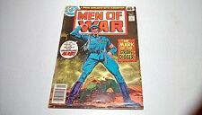 Men of WAR #16 (DC) 1979 -- (VG+/FN-) -- feat. Gravedigger -- KUBERT COVER!!!