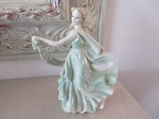 *BEAUTIFUL* WEDGWOOD CLASSICAL DANCING LADY FIGURE 8.25 INCH TALL *EXCELLENT*