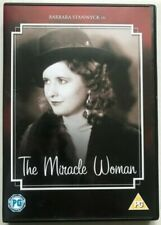 The Miracle Woman Dvd Barbare Stanwyck Brand New & Factory Sealed (1931)