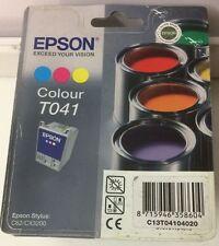 Original Epson T041 Tintenpatrone 3-farbig für Epson Stylus C62/ CX3200