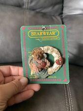 Vintage Lot Of 2 Boyds Bears Bearwear Brooch Pins- New