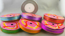 7 x Multicolour Ribbons Bundle Packing Gift Wrapping Decoration Ribbon Reels(R1)