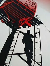 "Bayshore Billboard 2011 Rare Serigraph 18""x24"" Hand Signed by Shepard Fairey AP"