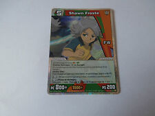 Carte Inazuma Eleven Shawn Froste Reflet Champions Galactiques !!!