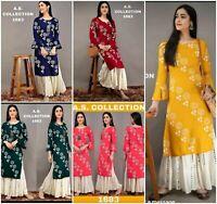 Indian Pakistani Suit Shalwar Kameez Plazo Kurti Designer Dresses Kameez Salwar