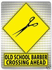 Barber Shop Metal street sign / funny old school retro Style wall decor art 488